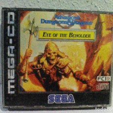 Videojuegos y Consolas: AD&D EYE OF THE BEHOLDER MEGA CD SEGA. Lote 158300866