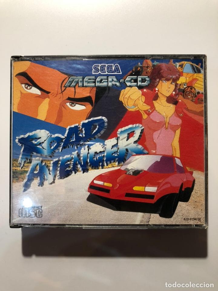 ROAD AVENGER SEGA MEGA CD PAL ESP (Juguetes - Videojuegos y Consolas - Sega - Mega CD)