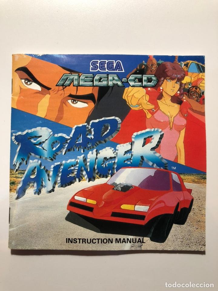 Videojuegos y Consolas: ROAD AVENGER SEGA MEGA CD PAL ESP - Foto 3 - 159207656
