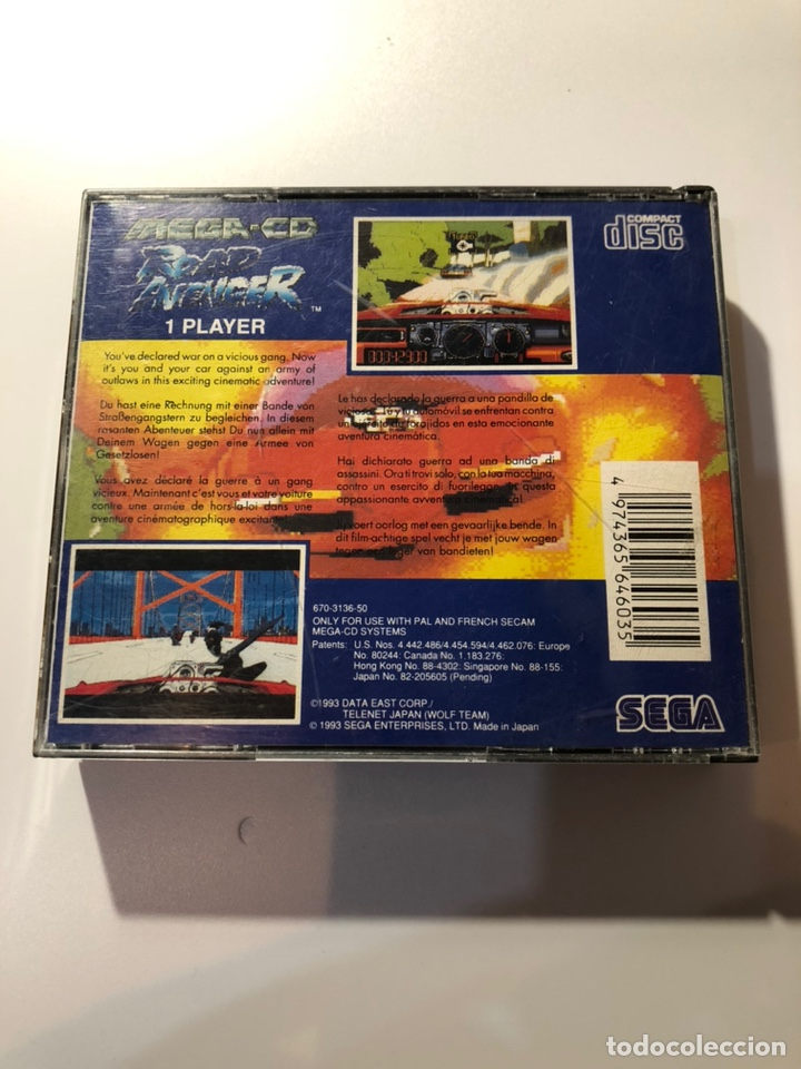 Videojuegos y Consolas: ROAD AVENGER SEGA MEGA CD PAL ESP - Foto 6 - 159207656