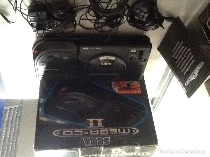 Videojuegos y Consolas: LOTE DE CONSOLAS SEGA MEGA CD 2 Y MEGA DRIVE + 4 juegos - Foto 2 - 167887072