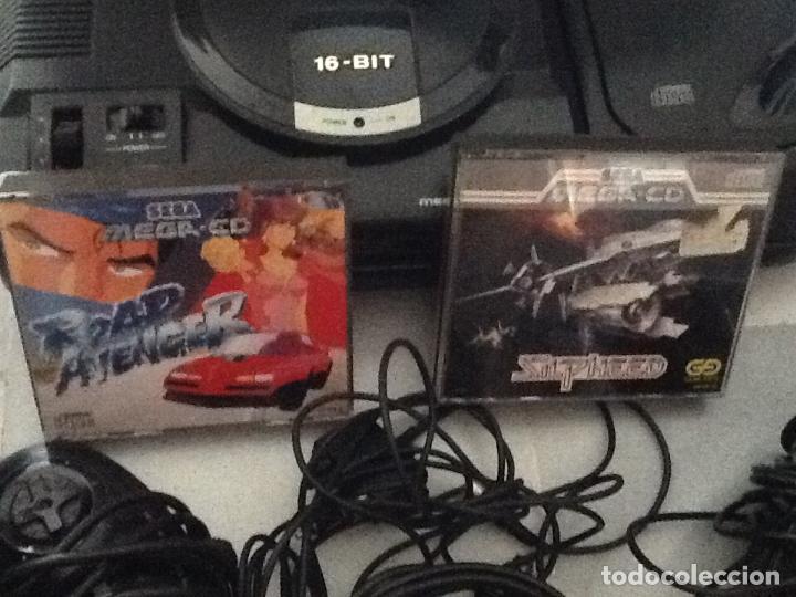 Videojuegos y Consolas: LOTE DE CONSOLAS SEGA MEGA CD 2 Y MEGA DRIVE + 4 juegos - Foto 8 - 167887072