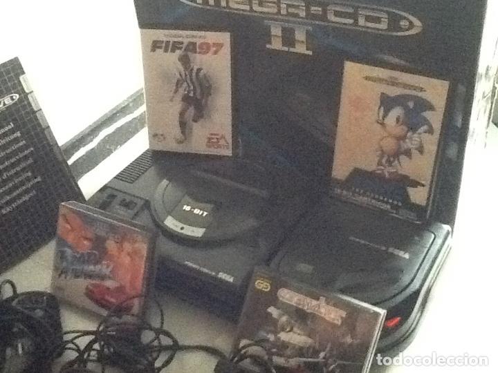 Videojuegos y Consolas: LOTE DE CONSOLAS SEGA MEGA CD 2 Y MEGA DRIVE + 4 juegos - Foto 9 - 167887072