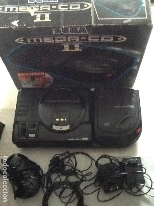 Videojuegos y Consolas: LOTE DE CONSOLAS SEGA MEGA CD 2 Y MEGA DRIVE + 4 juegos - Foto 10 - 167887072