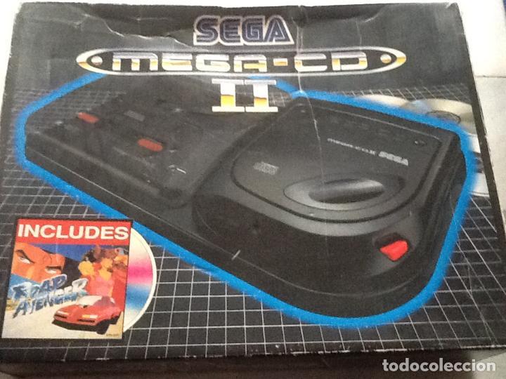 LOTE DE CONSOLAS SEGA MEGA CD 2 Y MEGA DRIVE + 4 JUEGOS (Juguetes - Videojuegos y Consolas - Sega - Mega CD)