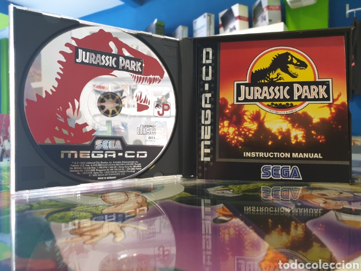Videojuegos y Consolas: Mega cd jurassic park - Foto 2 - 171690815