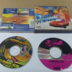 Videojogos e Consolas: ROAD AVENGER SEGA MEGA-CD VERSION PAL. Lote 172943134