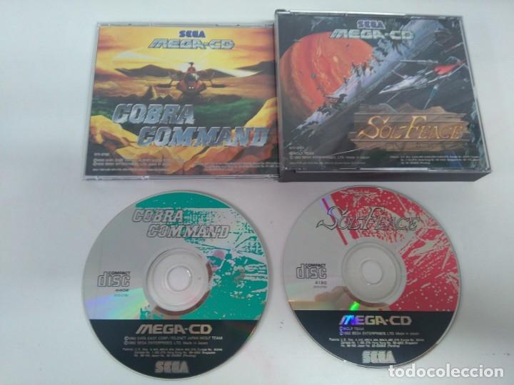 SOL-FEACE + COBRA COMMAND 2 JUEGOS EN 1!! PARA SEGA MEGA CD!!!! ENTRA Y MIRA MIS OTROS JUEGOS!! (Juguetes - Videojuegos y Consolas - Sega - Mega CD)