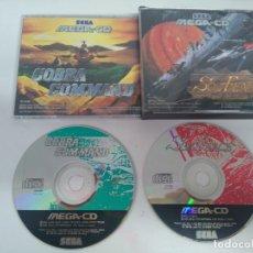 Videojuegos y Consolas: SOL-FEACE + COBRA COMMAND 2 JUEGOS EN 1!! PARA SEGA MEGA CD!!!! ENTRA Y MIRA MIS OTROS JUEGOS!!. Lote 177116408