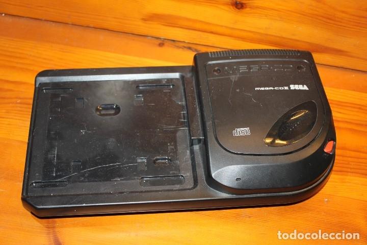 SEGA MEGA CD II COMPACT DISC ,FUNCIONA ,INCOMPLETA (Juguetes - Videojuegos y Consolas - Sega - Mega CD)