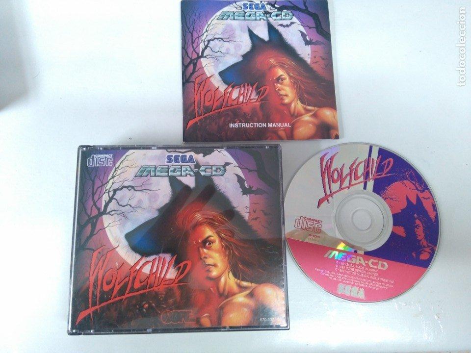 WOLFCHILD PARA SEGA MEGA-CD ENTRA Y MIRA MIS OTROS JUEGOS!! (Juguetes - Videojuegos y Consolas - Sega - Mega CD)
