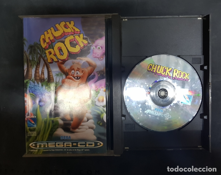 Videojuegos y Consolas: SEGA MEGA CD - JUEGO CHUCK ROCK PAL ESPAÑA COMPLETO RARO!!!! - Foto 2 - 182276575