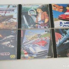 Videojuegos y Consolas: LOTE 6 JUEGOS MEGA CD JAPONESES. Lote 182315395