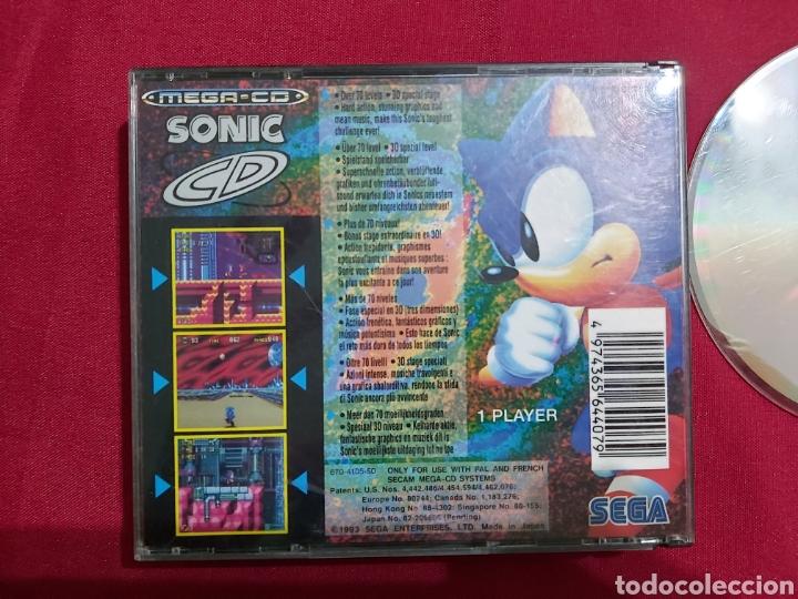 Videojuegos y Consolas: SEGA MEGA CD SONIC - Foto 2 - 183731726