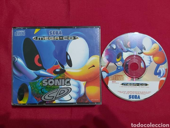 SEGA MEGA CD SONIC (Juguetes - Videojuegos y Consolas - Sega - Mega CD)
