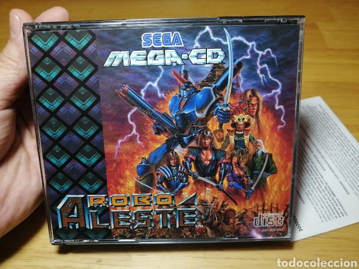 Videojuegos y Consolas: Robo Aleste Sega Mega CD - Foto 2 - 186128181