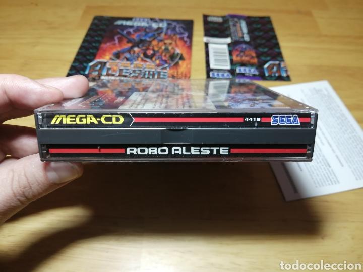 Videojuegos y Consolas: Robo Aleste Sega Mega CD - Foto 3 - 186128181