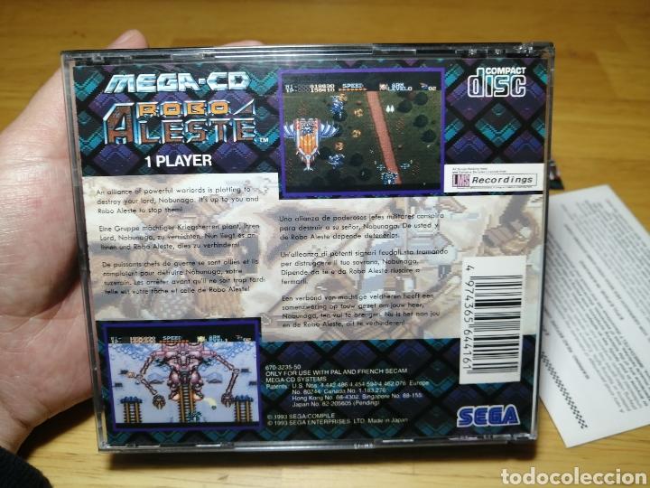 Videojuegos y Consolas: Robo Aleste Sega Mega CD - Foto 6 - 186128181