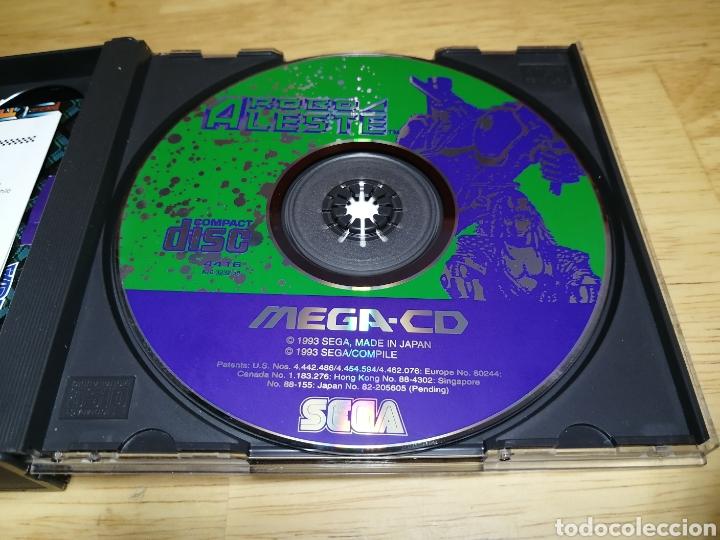 Videojuegos y Consolas: Robo Aleste Sega Mega CD - Foto 7 - 186128181