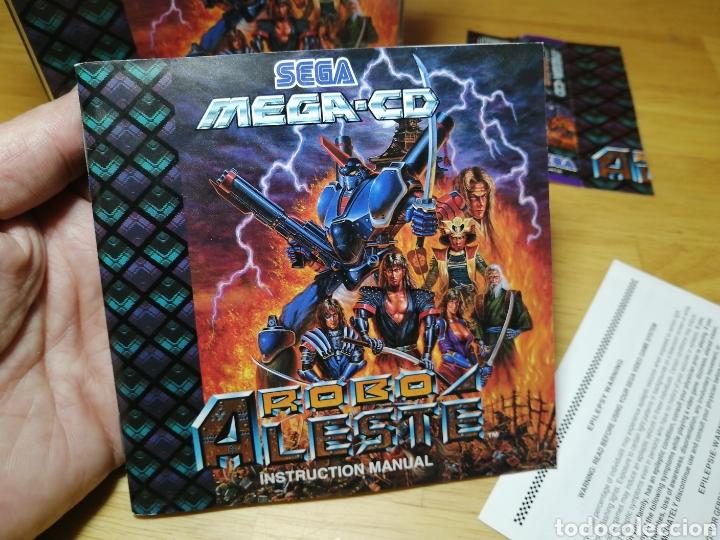 Videojuegos y Consolas: Robo Aleste Sega Mega CD - Foto 9 - 186128181