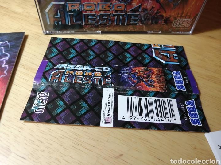 Videojuegos y Consolas: Robo Aleste Sega Mega CD - Foto 11 - 186128181