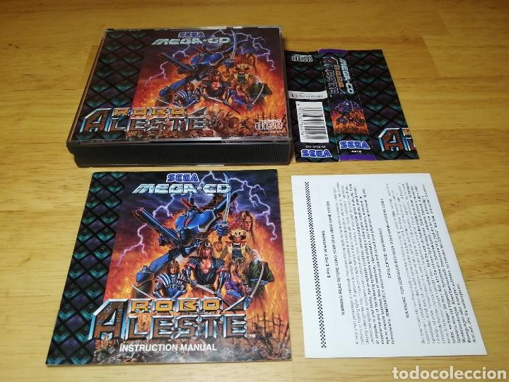 ROBO ALESTE SEGA MEGA CD (Juguetes - Videojuegos y Consolas - Sega - Mega CD)