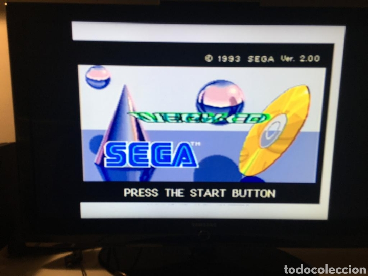CONSOLA SEGA MEGA DRIVE II MEGA CD 2 Y UN MANDO PROBADA Y FUNCIONANDO (Juguetes - Videojuegos y Consolas - Sega - Mega CD)