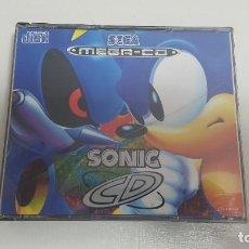 Videojuegos y Consolas: SONIC CD COMPLETO SEGA MEGA CD MEGADRIVE. Lote 190431881