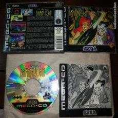 Videojuegos y Consolas: THE ADVENTURES OF BATMAN Y ROBIN MEGA-CD SEGA SUPER RARO MUY BUSCADO EN TODO EL MUNDO. Lote 192676622