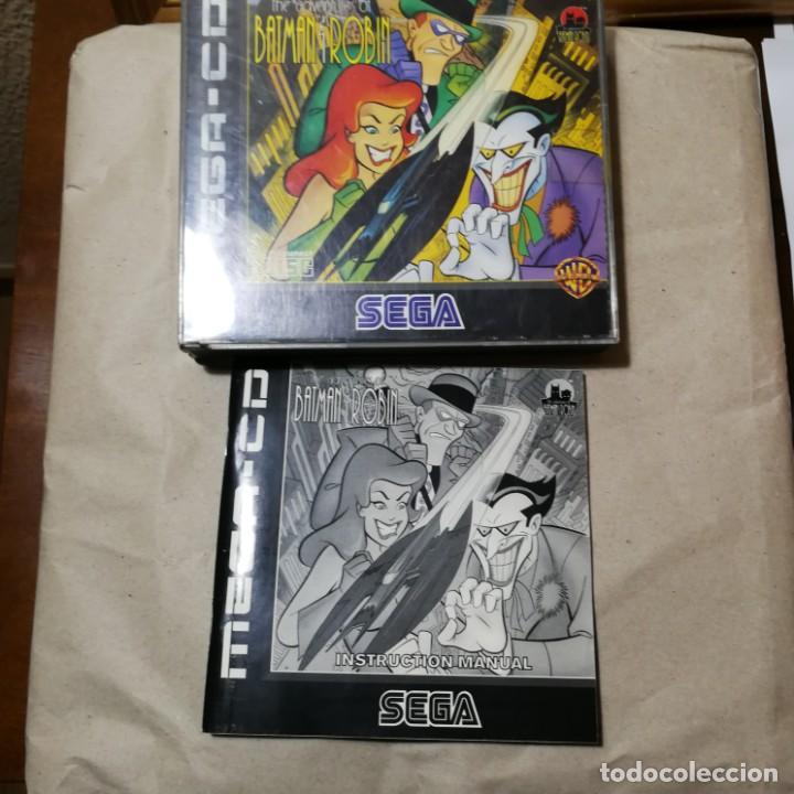 Videojuegos y Consolas: THE ADVENTURES OF BATMAN Y ROBIN MEGA-CD SEGA SUPER RARO MUY BUSCADO EN TODO EL MUNDO - Foto 2 - 192676622