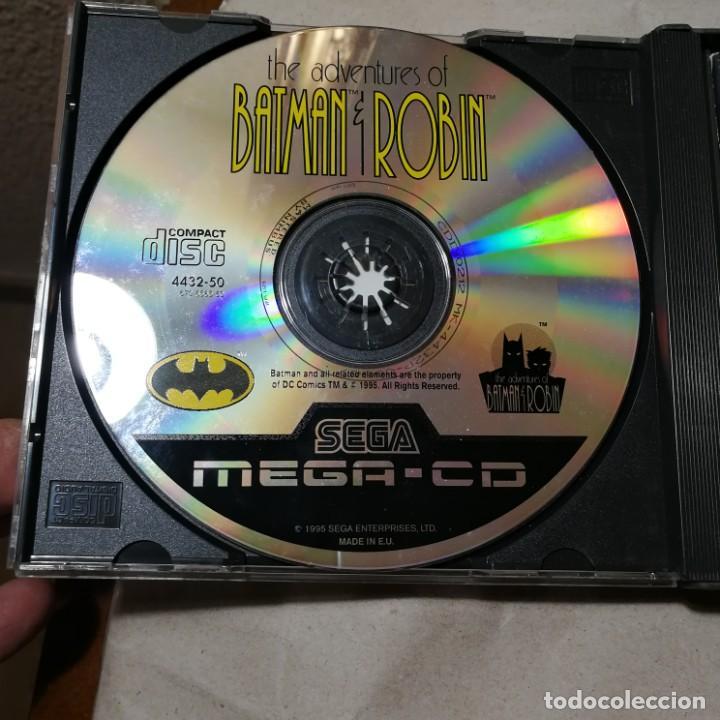 Videojuegos y Consolas: THE ADVENTURES OF BATMAN Y ROBIN MEGA-CD SEGA SUPER RARO MUY BUSCADO EN TODO EL MUNDO - Foto 4 - 192676622