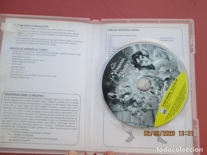 Videojuegos y Consolas: ALADDIN , LA VENGANZA DE NASIRA PC CD.ROOM JUEGO DE ACCION EN CASTELLANO - Foto 2 - 194160223