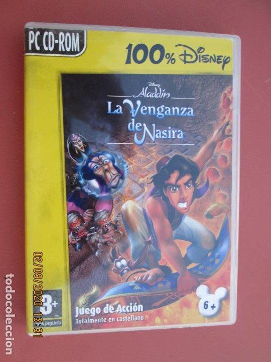 ALADDIN , LA VENGANZA DE NASIRA PC CD.ROOM JUEGO DE ACCION EN CASTELLANO (Juguetes - Videojuegos y Consolas - Sega - Mega CD)