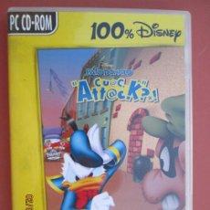 Videojuegos y Consolas: PATO DONALD , CUAC ATTACK JUEGO DE ACCION PC CD-ROOM . Lote 194160390