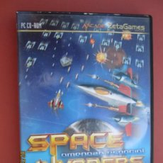 Videojuegos y Consolas: SPACE INVADERS , AMENAZA ESPACIAL PC, CD-ROM -ARCADE ZETA GAMES . Lote 194160587