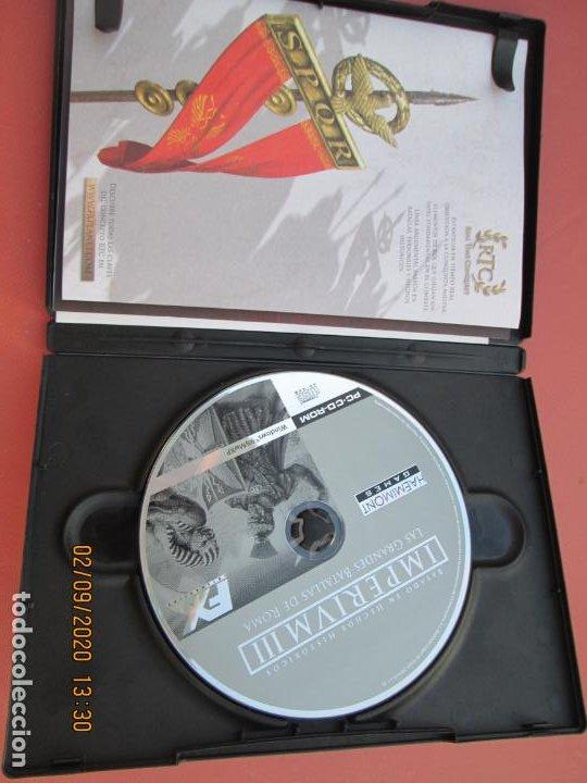 Videojuegos y Consolas: IMPERIUM III LAS GRANDES BATALLAS DE ROMA PC, CD-ROM - Foto 2 - 194160775