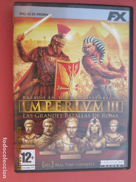 IMPERIUM III LAS GRANDES BATALLAS DE ROMA PC, CD-ROM (Juguetes - Videojuegos y Consolas - Sega - Mega CD)