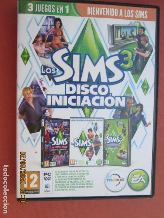 LOS SIMS 3 - DISCO INICIACIÓN - 3 JUEGOS EN UNO - PC-DVD. (Juguetes - Videojuegos y Consolas - Sega - Mega CD)