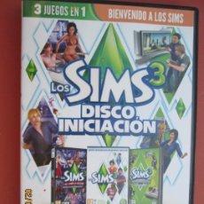 Videojuegos y Consolas: LOS SIMS 3 - DISCO INICIACIÓN - 3 JUEGOS EN UNO - PC-DVD. . Lote 194161885