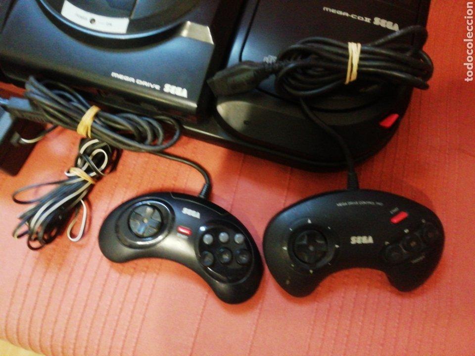 Videojuegos y Consolas: Mega Drive con Mega CD II - Foto 3 - 162478478