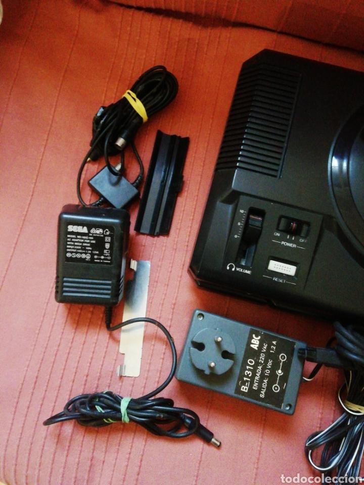 Videojuegos y Consolas: Mega Drive con Mega CD II - Foto 4 - 162478478