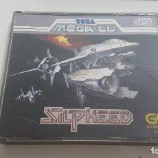 Videojuegos y Consolas: SILPHEED COMPLETO SEGA MEGA CD. Lote 195238778