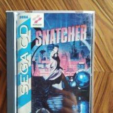 Videojuegos y Consolas: COMPLETO SNATCHER SEGA CD 100% ORIGINAL CON CAJA Y MANUAL. Lote 208669366