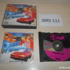 Videojuegos y Consolas: MEGA CD - ROAD AVENGER , PAL ESPAÑOL , COMPLETO. Lote 212519535