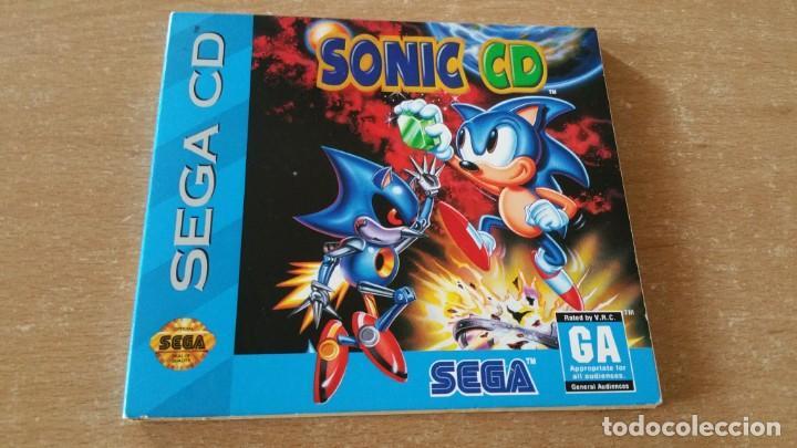 SONIC CD SEGA CD PROMO NOT FOR RELEASE (Juguetes - Videojuegos y Consolas - Sega - Mega CD)