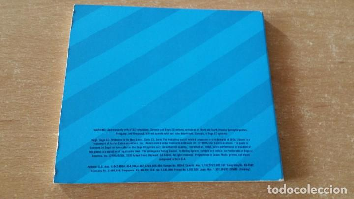 Videojuegos y Consolas: SONIC CD SEGA CD PROMO NOT FOR RELEASE - Foto 2 - 214754642