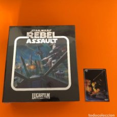 Videojuegos y Consolas: STAR WARS REBEL ASSAULT SEGA CD LIMITED RUN. Lote 218264780