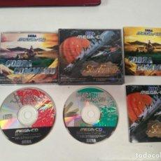 Videojogos e Consolas: SOL-FACE COBRA COMMAND SEGA MEGA-CD MIRE MIS JUEGOS NINTENDO SONY SEGA MEGADRIVE DREAMCAST SATURN. Lote 220849403