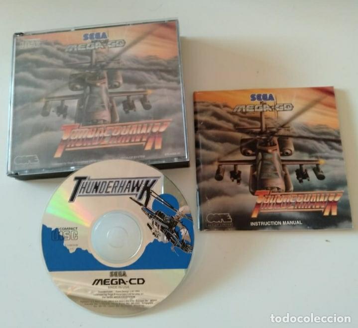 THUNDER HAWK SEGA MEGA CD (Juguetes - Videojuegos y Consolas - Sega - Mega CD)