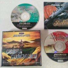 Videojogos e Consolas: SOL-FACE COBRA COMMAND MEGA-CD. Lote 223919192